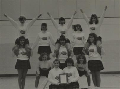 Cheerleading '86-87